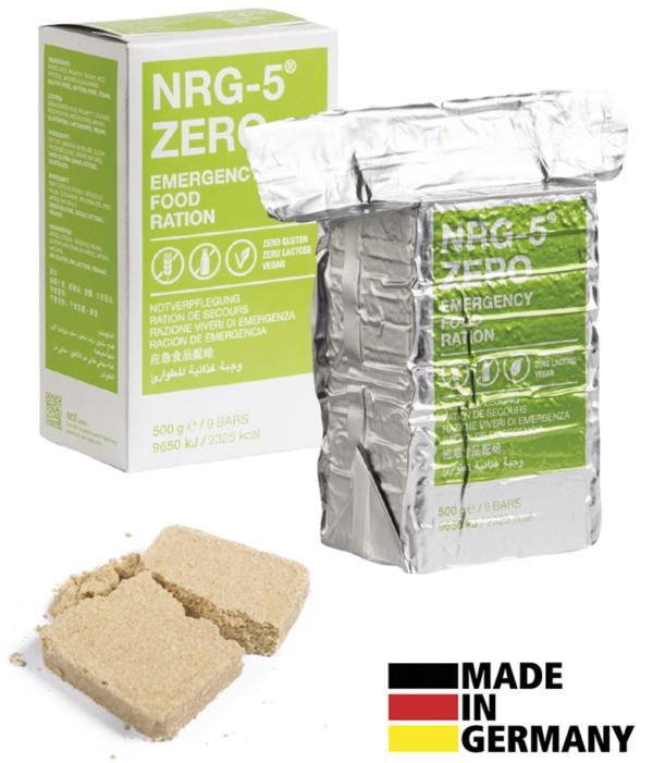 NRG-5 ZERO glutenfrei aus Reis